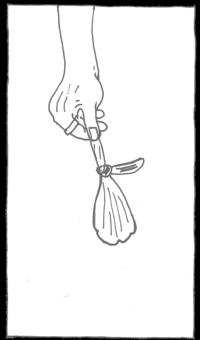 Zeichnung kaputter Luftballon