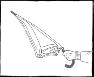 Zeichnung Regenschirm