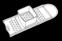 Zeichnung Spaetzlhobel