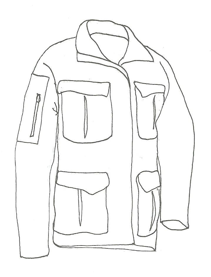 Muck Zeichnung jacke